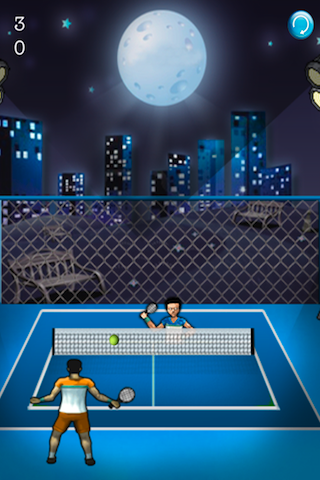 Screenshot Beach Tennis